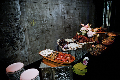 Kicked Up Comfort Food With A Bit Of Rustic Italian Flare Wedding Buffet