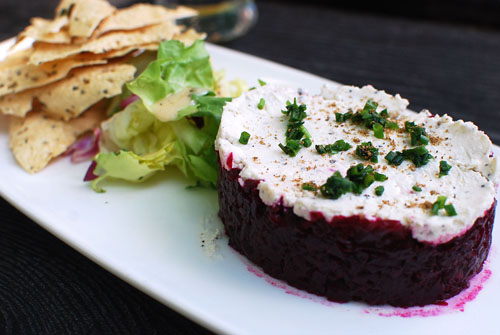 Daring to be different: The Beet Tartare at Strong Place in Cobble ...
