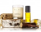 The DUDE No. 1 collection--beard oil and candle.