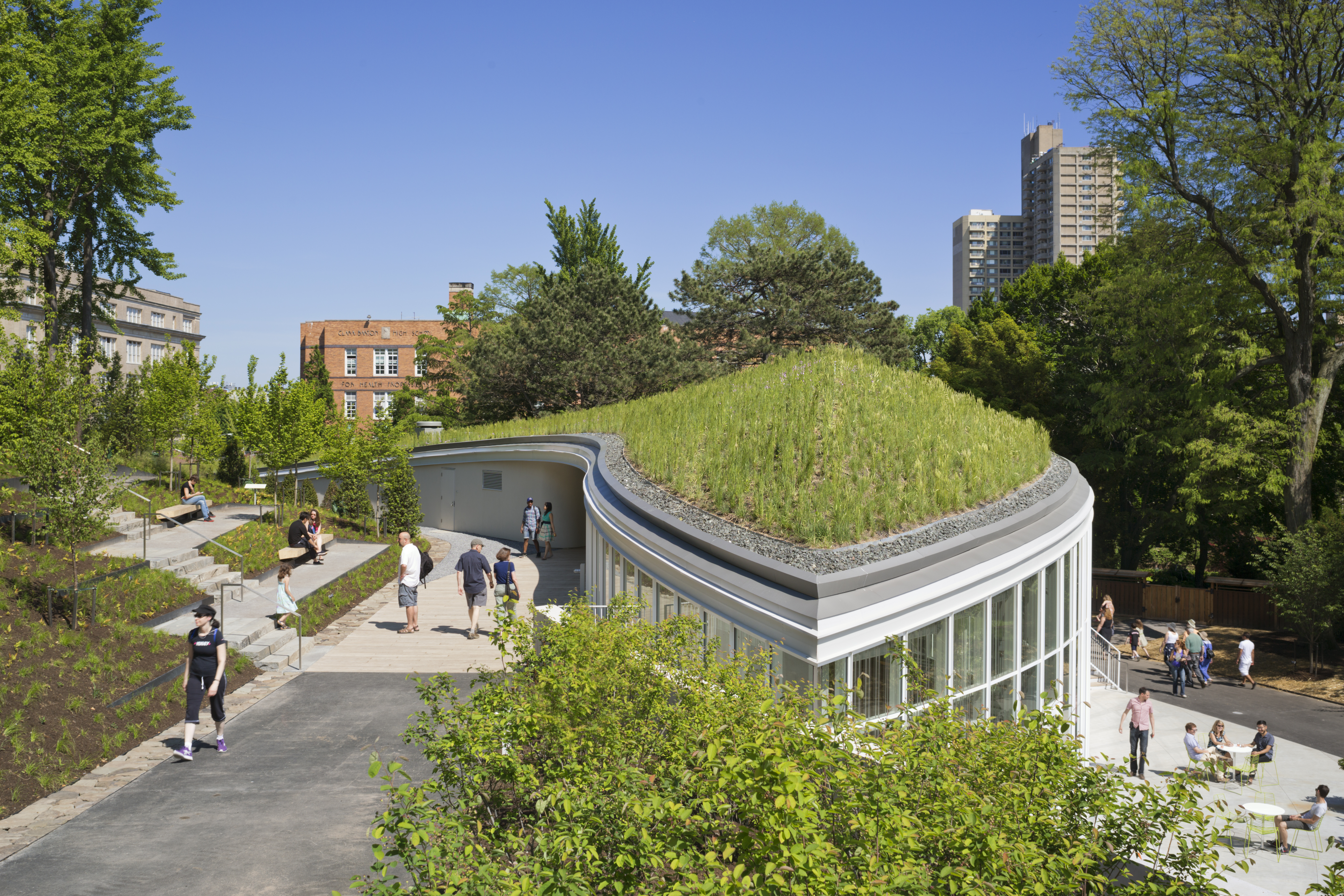 Architecture and Ecology Intertwine at New BBG Visitor ...