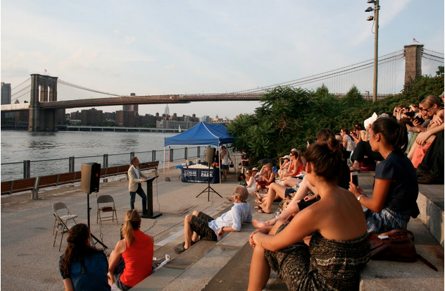 Back for its third year, Books Beneath the Bridge is quickly becoming a staple of Brooklyn's summer reading series.