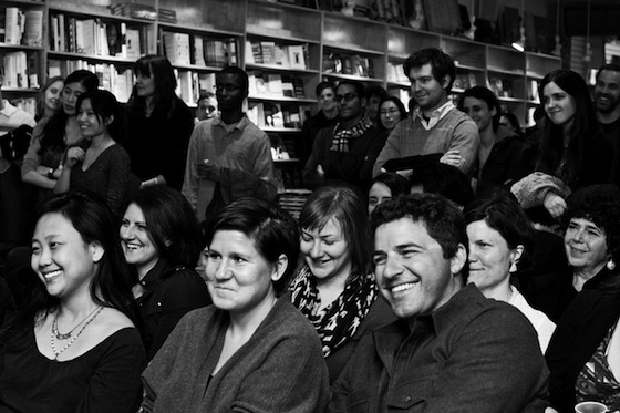 As part of the ongoing Sackett Street Writers' Reading Series at BookCourt, they celebrated their 10th anniversary last year with a reading and party.