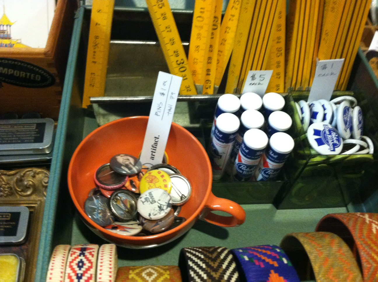 Yes, they do sell PBR chapstick, for about the same price as a cold PBR. Photo: Anastasia Friscia
