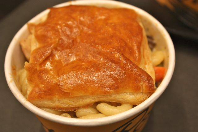 Turkey pot pie mac