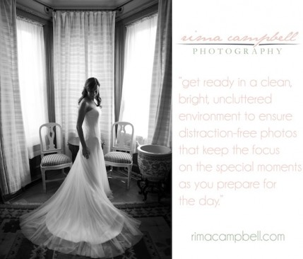 One of the great wedding photo tips you'll glean next Wednesday, Feb. 13 at The Green Buildling