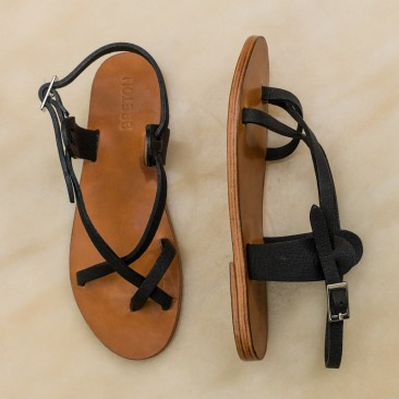 Sandals are new additions to the line this spring, and will be available in May for $240. Photo: Marlow Goods