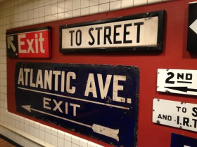If you see something on the subway, say something. Visit the New York Transit Museum, and learn something, too.
