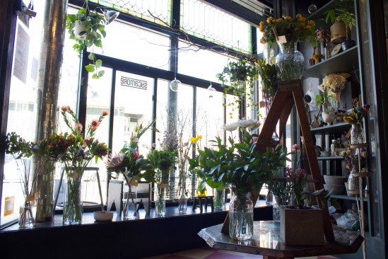 Classes at Stems include two botanically-inspired cocktails. Photo: Nadia Chaudhury