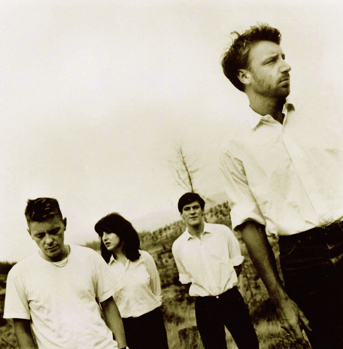 British band New Order plays Williamsburg Park this Wednesday. Photo: Glenn A Baker / Redferns