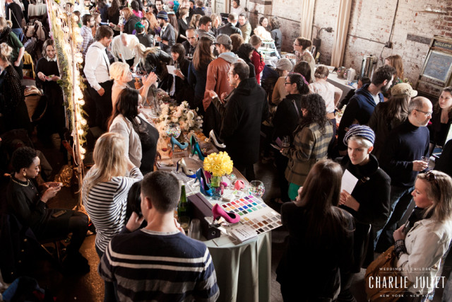 A scene from our spring wedding fair, and a taste of what to expect at our fall edition of Wedding Crashers on Sept. 25.