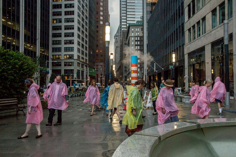 Art organization Elastic City asks artists to create participatory walks around the world where putting poetic exchange back into public spaces is the main objective. Next up is Gowanus on Aug. 6. Photo: Elastic City
