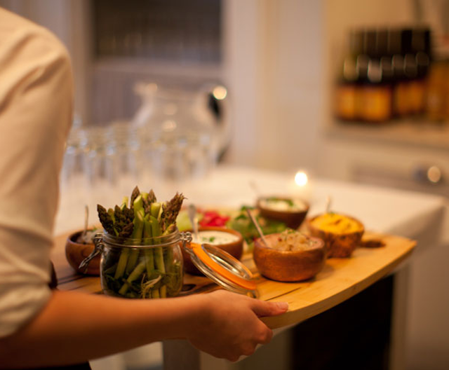 iCi Restaurant serves a prix fixe dinner on Wednesday nights that makes deciding what's for dinner simple. Photo: iCi