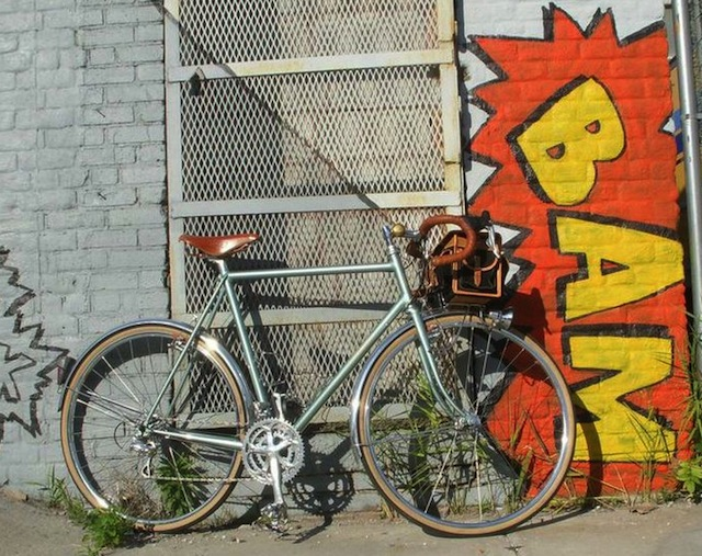 Custom, made-to-order bikes like this beauty from Coast Cycles in Bushwick will be on display this weekend at Bike Cult Show in Wiliamsburg. Photo: Bike Cult