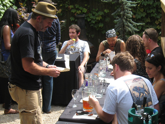 Craft brew connoisseurs take note: the Brooklyn Homebrew Competition is happening this Saturday at The Bell House. Photo: Sycamore