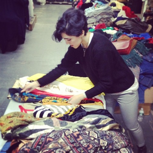 Snag a new winter wardrobe this weekend at Dusty Rose Vintage's rummage sale. Photo: Dusty Rose