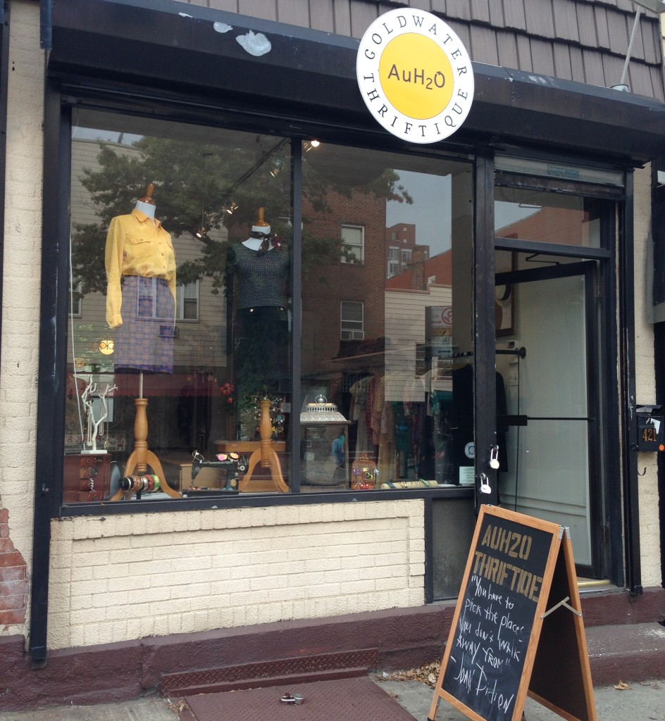 Goldwater Thrift just opened its door on Graham Avenue. Photo: Gili Malinsky