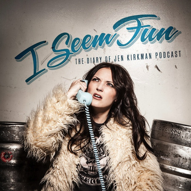 "Comedienne Jen Kirkman is one funny lady who'll be making a return trip to Brooklyn on Nov. 7 for the first live taping of her popular podcast, ""I Seem Fun,"" at The Bell House on Nov. 7. Photo: Jen Kirkman"