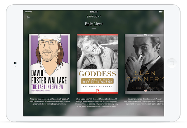 With the introduction of an iPad version of its popular book reader app, Oyster is now more than a companion for commuters. Photo: Oyster