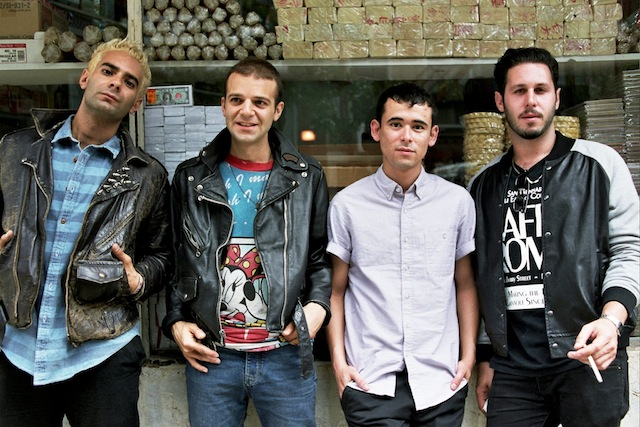 Bundle up and stand in line to see The So So Glos for free this Friday at Brooklyn Night Bazaar. Photo: The So So Glos