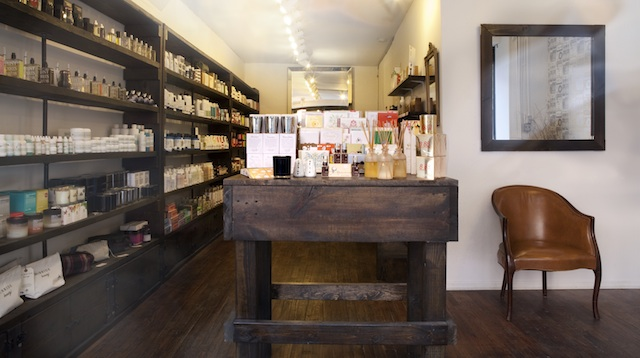 Inside Miomia, where you can source local products like McBride's Rescue and Repair in A Jar and Night Cream, a favorite moisturizer of some BB staffers.