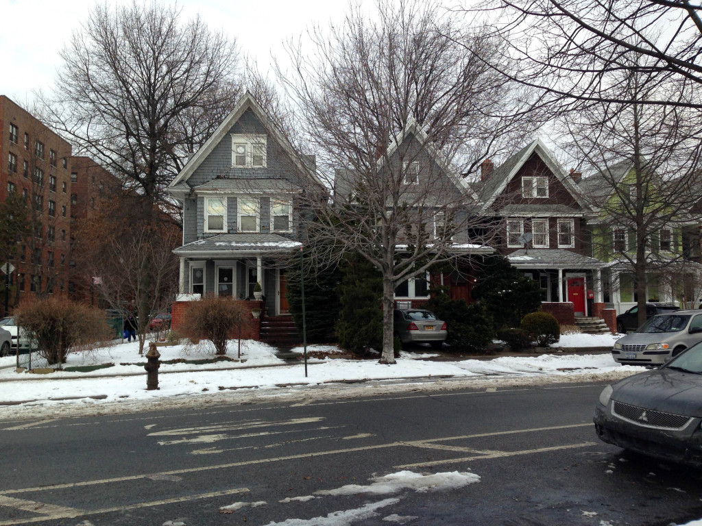 Dorchester Road is packed withbeautiful home. Photo: Peggy Truong