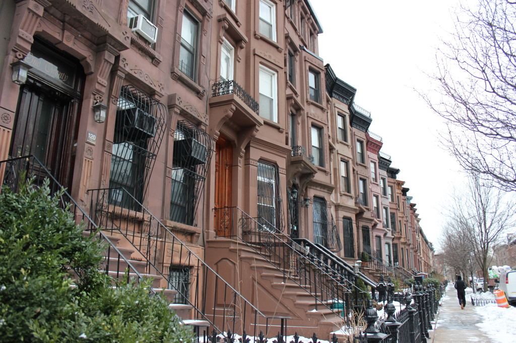 Brownstone blocks are only one side of Bed-Stuy. Photo: Gabrielle Sierra