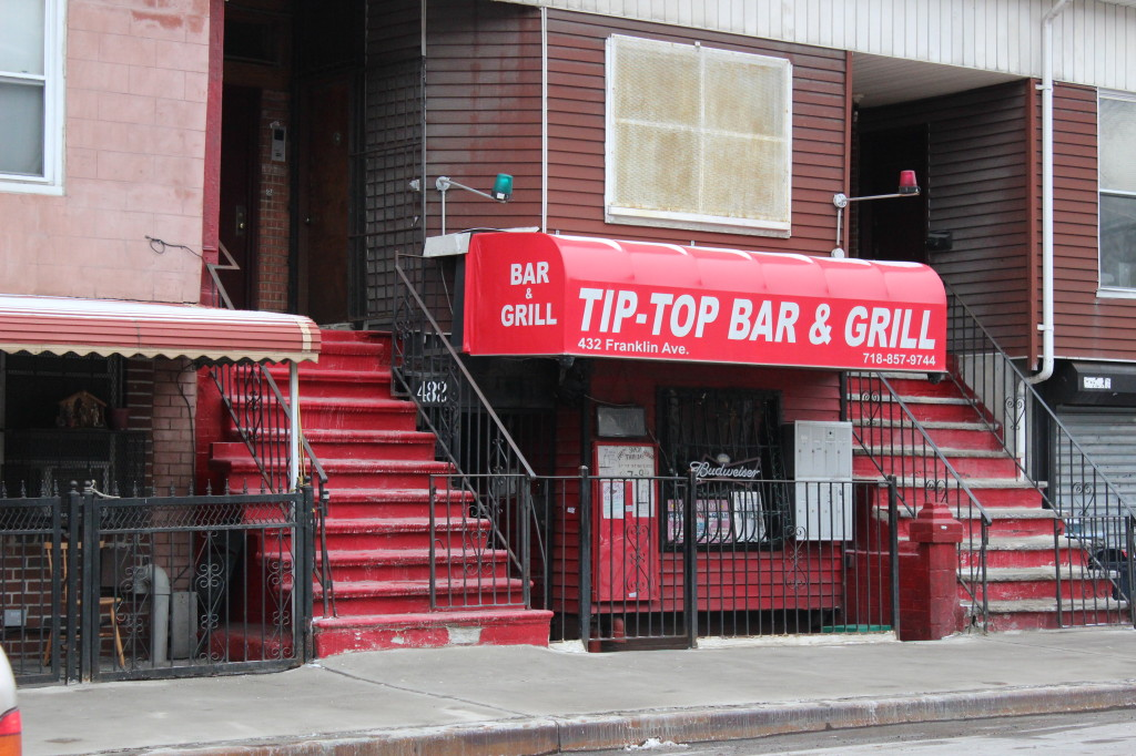 No neighborhood is complete without an unpretentious watering hole like Tip Top. Photo: Gabrielle Sierra