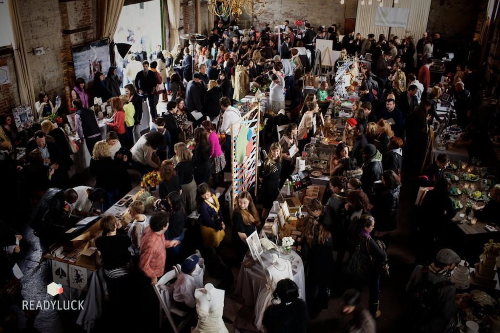 Wedding Crashers is back and bigger than ever this year, taking place in both The Green Building and SHOW ROOM Gowanus next door. Photo: Readyluck
