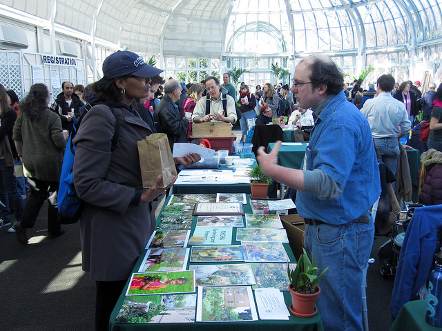 Get help growing a garden this Saturday at the 33rd annual Making Brooklyn Bloom symposium at Brooklyn Botanic Garden. Photo: BBG