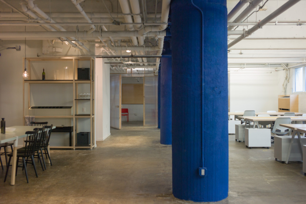 Makeshift founder Bryan Boyer considers the co-working space a clubhouse for creative types. Photo: Makeshift