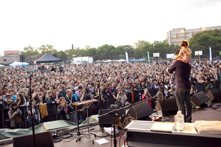 Outdoor music is returning to McCarren Park next month when the Northside Festival opens on June 12. Photo: Northside Media Group