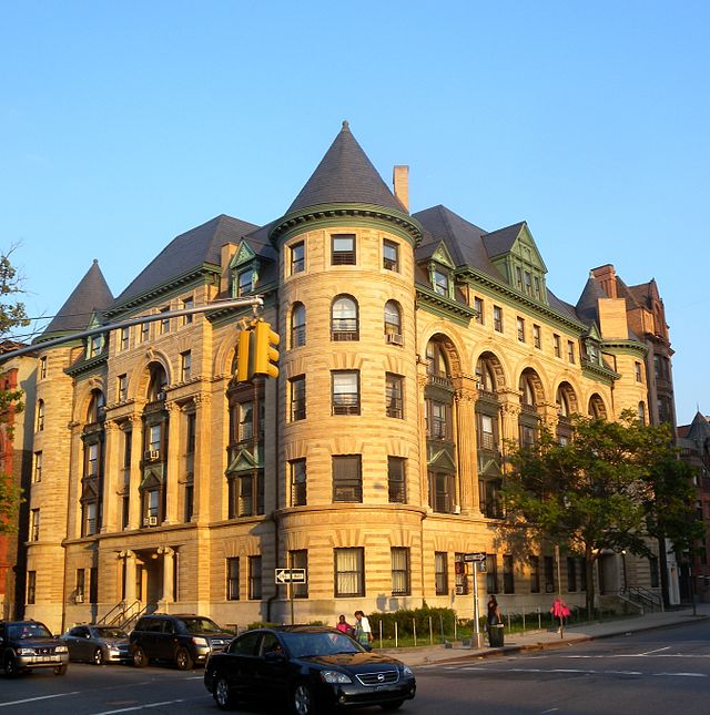 The Imperial Apartments on Bedford Avenue were built in 1892. Photo: Jim Henderson