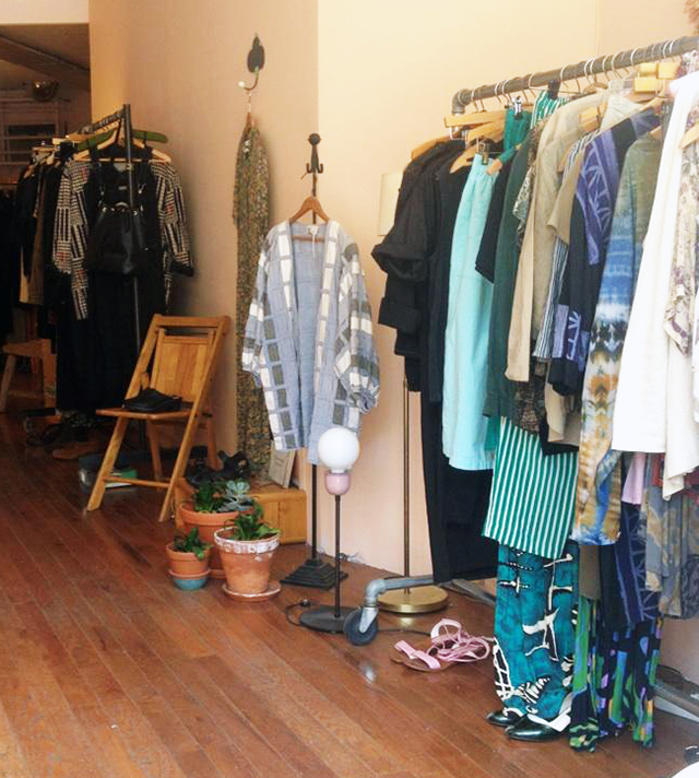 Horizons vintage shop is having a two-day sample sale with some of its favorite local designers, starting this Friday. Photo: Magazine