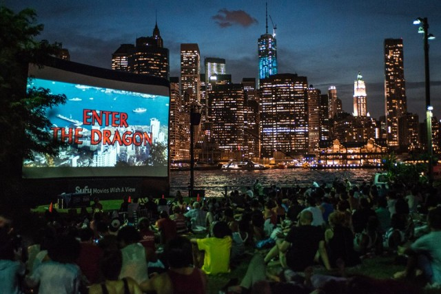 """Enter the Dragon"" played at Brooklyn Bridge Park last summer. Photo: Brooklyn Bridge Park"