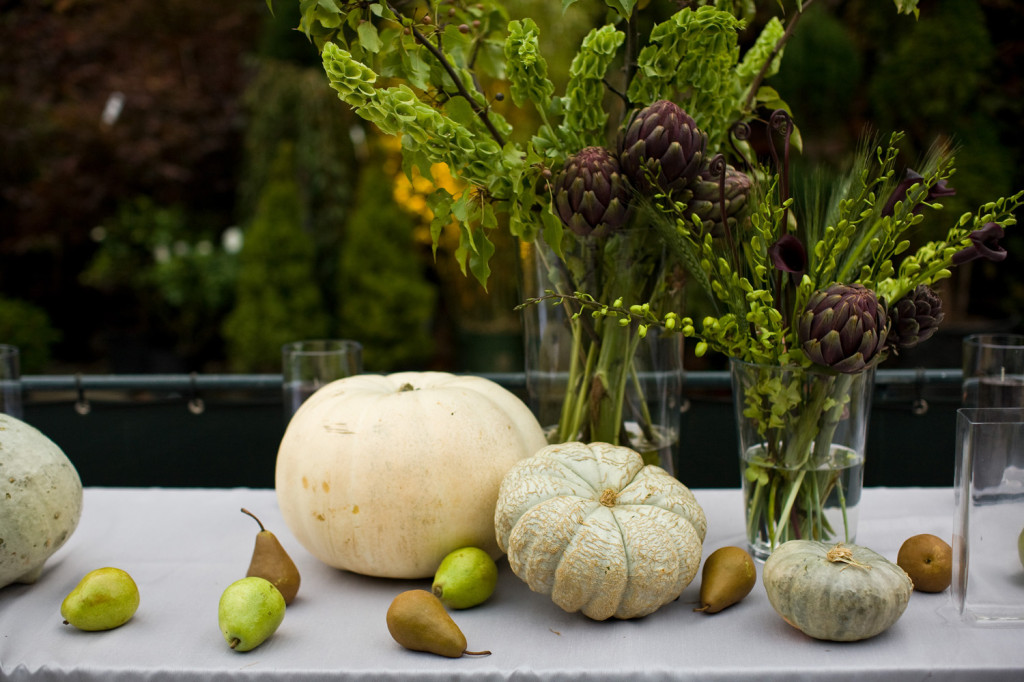 A Roquette-catered wedding at The Foundery in Long Island City. Photo: Roquette