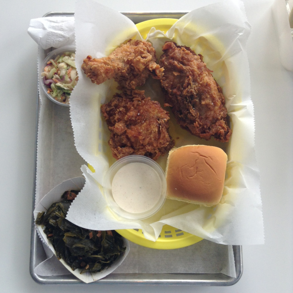The fried chicken dinner. (Photo courtesy Wilma Jean)