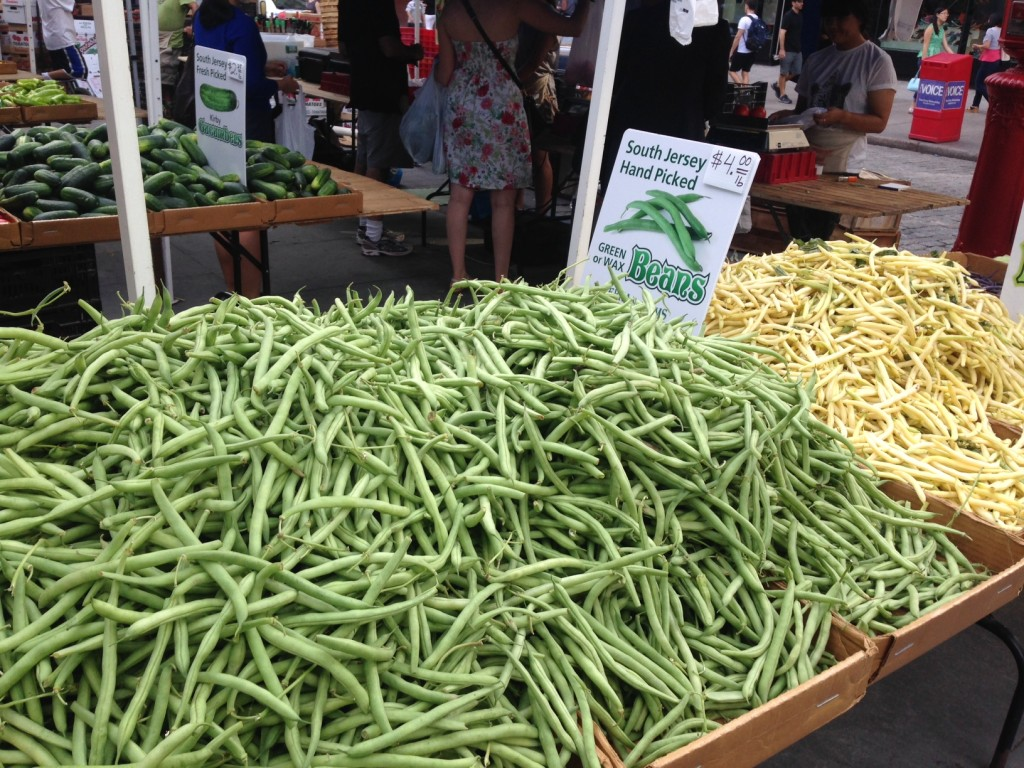 We're deep in summer now, as the Greenmarket can attest. Photo: Annaliese Griffin