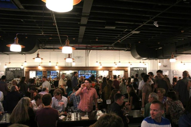 Berg'n opened its doors to friends and family on Friday. Its grand opening is Wednesday. Photo: Berg'n