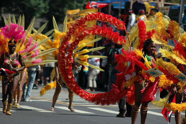 Brooklyn Carnival, one of the largest Diaspora celebration of West Indian culture in the world, will take place Sept. 1 in Crown Heights. Photo: George Krauss