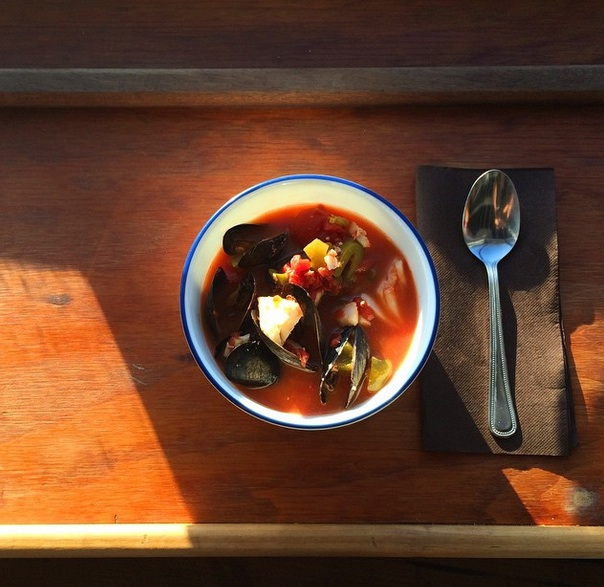Fisherman's stew with a view (Photo: The Water Table)