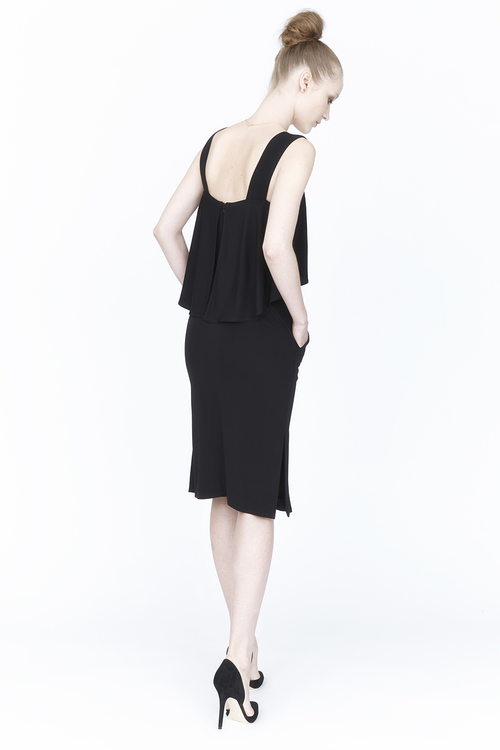 The Knit Dress is one of five designs in Carte Blanch's first run. Photo: Carte Blanche