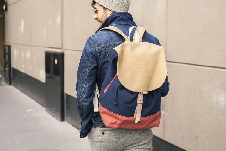 The Morus Backback by Skinny Vinny is one of our favorites items from Of a Kind's gifts guide for guys. Photo: Of a Kind