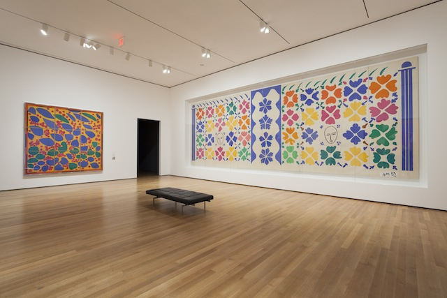Celebrate the holidays with Matisse! Installation view of Henri Matisse: The Cut-Outs at The Museum of Modern Art, New York (October 12, 2014-February 8, 2015). Photo by Jonathan Muzikar. © 2014 The Museum of Modern Art