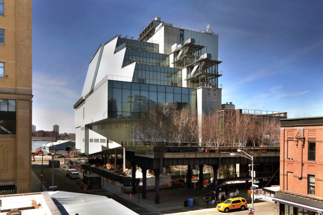 The new Whitney finally opens this weekend, and we're betting it will draw massive crowds. Photo: Ed Lederer via whitney.org