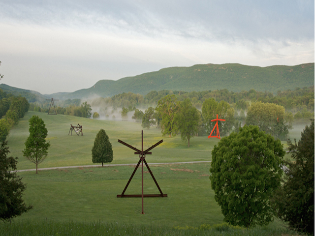 Storm King is open again for the season as of April 1, so don't let another year go by where you never actually make it up there. Photo: Storm King Art Center