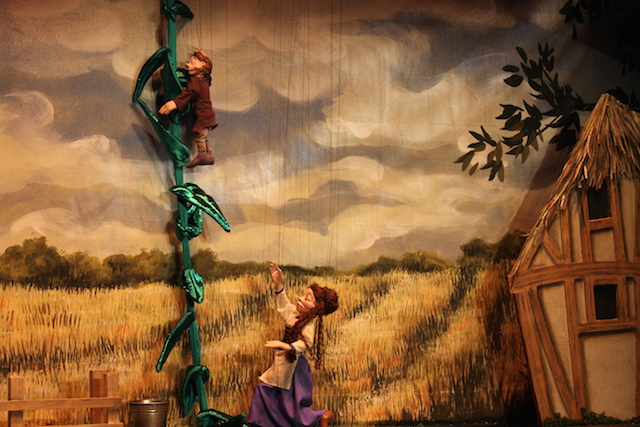The marionette puppets do a great job revitalizing a familiar story. Photo: Kate Hesler