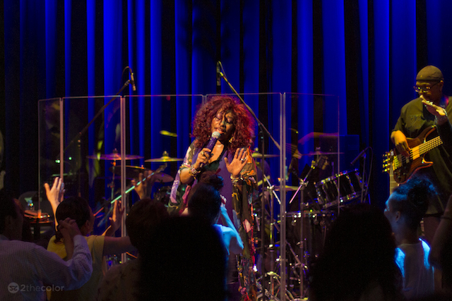 Ain't nobody quite like Chaka Khan, who will certainly bring down the bandstand when she opens  the Celebrate Brooklyn! outdoor concert series at Prospect Park on June 3. Photo: Chaka Khan