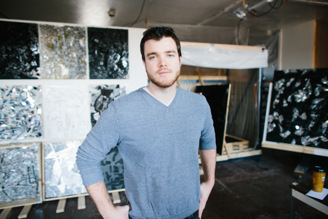 Ryan Lammie, an artist and founder of the artist collective Radiant Hall in Pittsburgh, which he calls one of the most supportive arts communities he's been a part of. Photo: Ben Filio