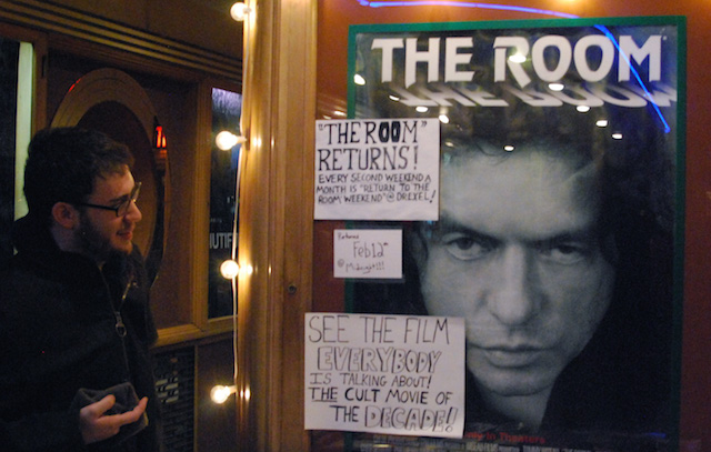 'The Room'--known as the 'Citizen Kane' of bad films--has acheived cult status with Midnight screenings around the country. Rifftrax  has helped make it even funnier. Photo: Drexel Theater