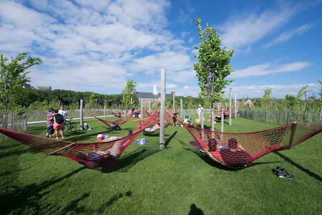 Governors Island opens for another awesome season on Saturday, as do all of the City beaches. Photo: Trust for Governors Island
